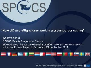 """How  eID  and  eSignatures  work in a cross-border setting"""