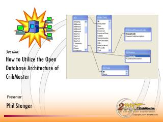 Session: How to Utilize the Open Database Architecture of CribMaster