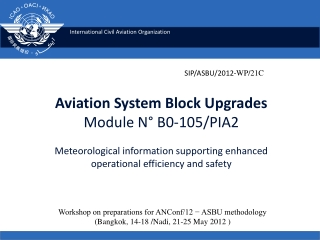 Module 11 Operations Scheduling