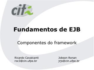 Fundamentos de EJB