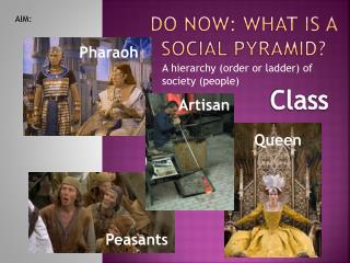 Do Now: What is a social pyramid?