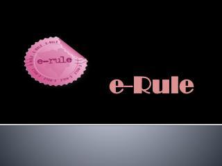 e-Rule
