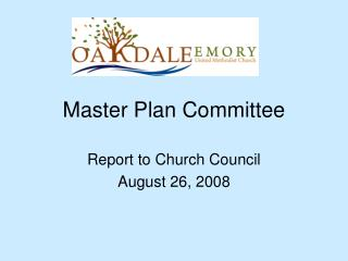 Master Plan Committee