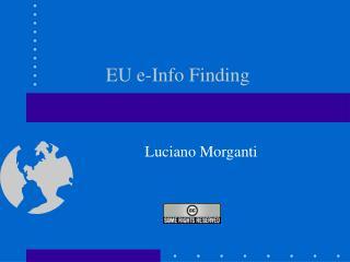 EU e-Info Finding
