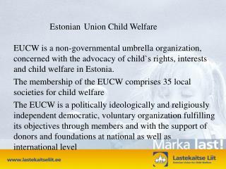 Estonian Union Child Welfare