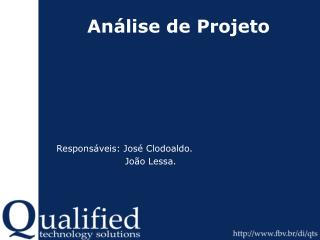 Análise de Projeto