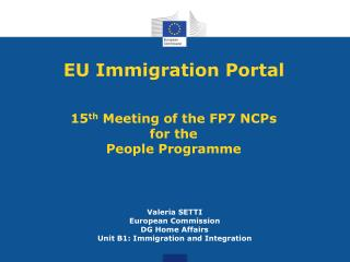 EU Immigration Portal