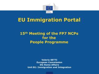 EU Immigration Portal