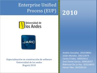 Enterprise Unified Process (EUP )