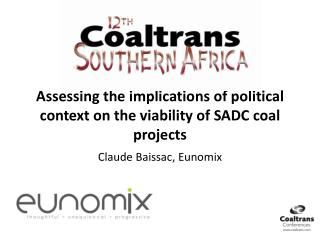 Assessing the implications of political context on the viability of SADC coal projects