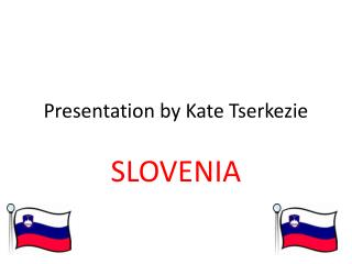 Presentation by Kate Tserkezie
