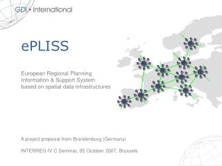 ePLISS European Regional Planning  Information & Support System