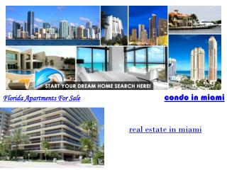 Florida Apartments For Sale