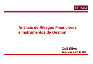Análisis de Riesgos Financieros e Instrumentos de Gestión