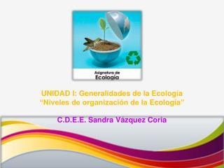C.D.E.E. Sandra Vázquez Coria