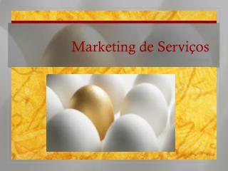 Marketing de Servi�os