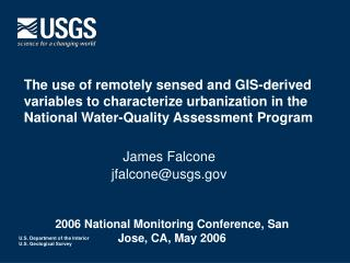 2006 National Monitoring Conference, San Jose, CA, May 2006