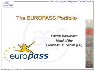 The EUROPASS Portfolio