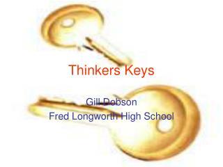 Thinkers Keys