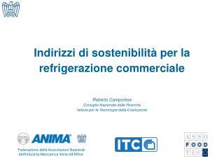 Indirizzi di sostenibilità per la refrigerazione commerciale