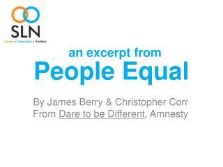 People Equal