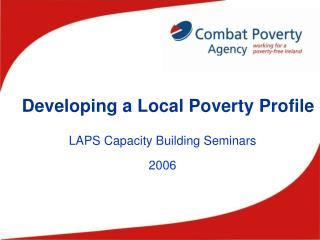 Developing a Local Poverty Profile