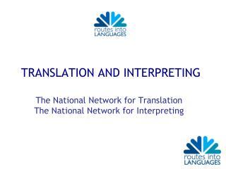Routes into Languages 1