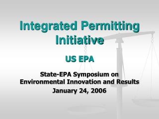 Integrated Permitting Initiative