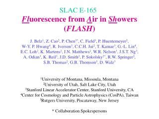 SLAC E-165