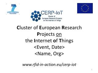 What is the CERP-IoT?