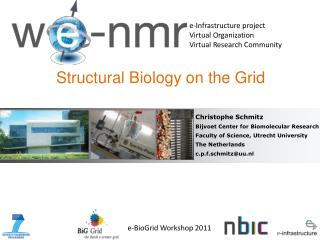 Structural Biology on the Grid