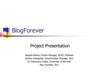 BlogForever