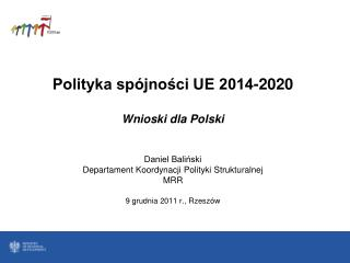 Pakiet legislacyjny opublikowany  przez Komisję Europejską  w dn. 6 października 2011 r.