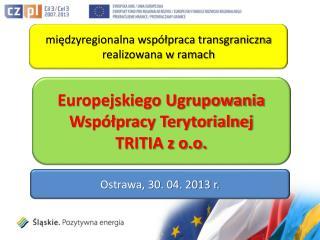 międzyregionalna współpraca  transgraniczna  realizowana w ramach