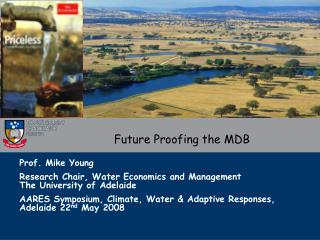 Future Proofing the MDB