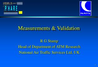Measurements & Validation