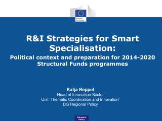 R&I Strategies for Smart Specialisation: