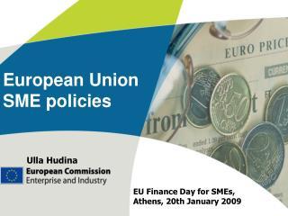 European Union SME policies