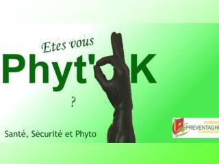 Travail en s�curit� avec les produits phyto