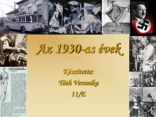 Az 1930-as évek