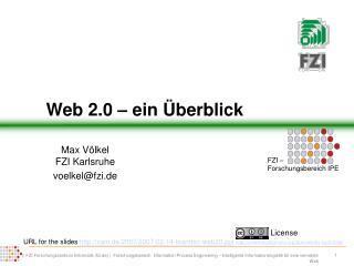 Web 2.0 – ein Überblick