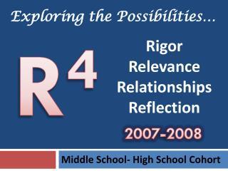 Middle School- High School Cohort