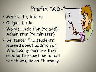 """Prefix  """"AD-"""""""
