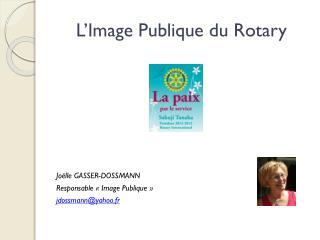 L�Image Publique du Rotary