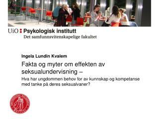 Ingela  Lundin  Kvalem