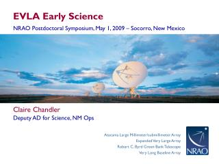 EVLA Early Science