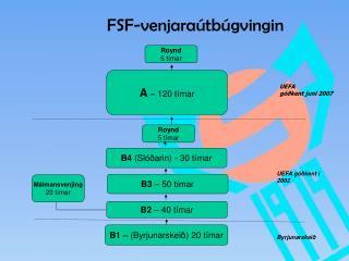 FSF-venjaraútbúgvingin