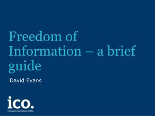 Freedom of Information – a brief guide