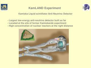 KamLAND Experiment