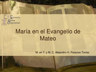 Mar�a en el Evangelio de Mateo